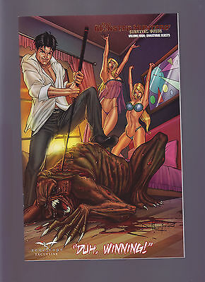 Zenescope The Monster Hunters Survival Guide Vol. Four Unnatural Beasts Variant