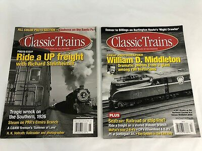 Classic Trains Magazine 2011 Spring and Fall Editions