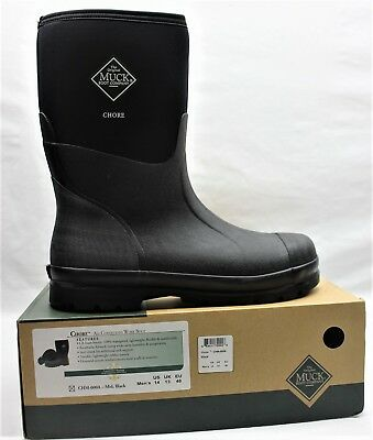 Men's Boots, Muck CHM-000A Chore All conditions Work Boot