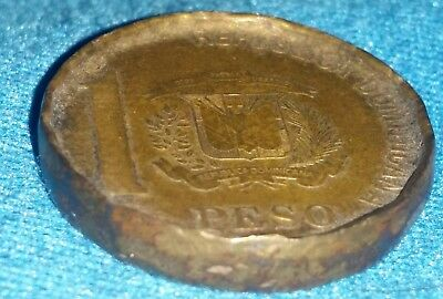 1 Peso Dominican Republic RARE COLLECTABLE