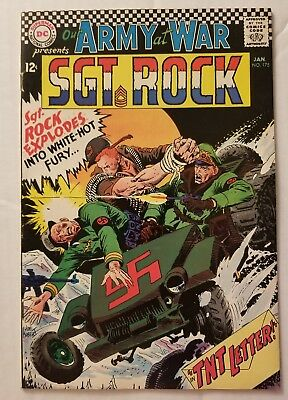 Our Army At War #175 (Dc Comics 1967) Sgt. Rock! Classic Dc War Comics!