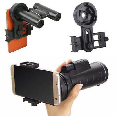 Portable Smart Phone Adapter Mount Binocular Monocular Spotting Scope Telescope