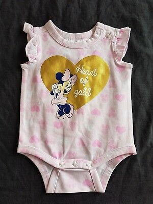Girls new MINNIE MOUSE romper size 000