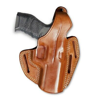 "Zigana PX-9-4/"" BBL #8047# Premium Leather OWB Pancake Holster Open Top Fits"