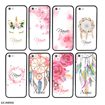 """Floral Personalised Custom Case/Cover For iPhone 6/6s (4.7"""") / Screen Protector"""