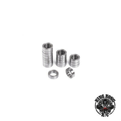 8x4x3mm Metal Bearings for Tamiya1/16 56020 Leopard 2A6/M26 PERSHING R/C Tank