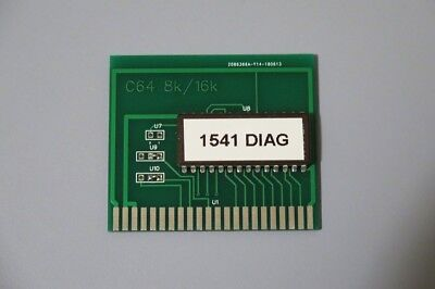 1541 and 1541-II Disk Drive Test and Diagnostics Cartridge for the Commodore 64.