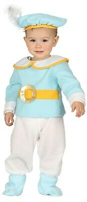 Baby Boys Cute Blue Prince Royalty  Fancy Dress Costume Outfit 6-12-24 months