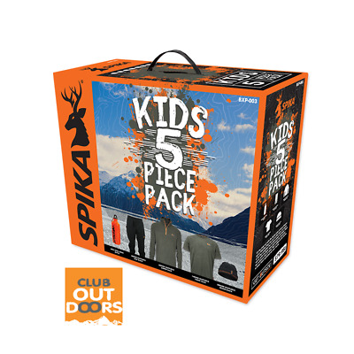 Spika Kid's 5 Piece Box Pack Bxp-003 Hunting Clothes Kids Shooting Size 12