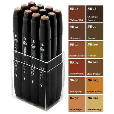 ShinHan Touch Twin Marker Wood Color