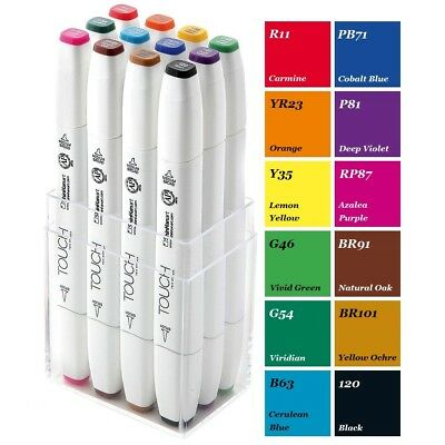 ShinHan Touch Brush Marker Main Color