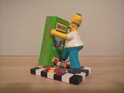 The Simpsons MMM SNACKTIME Hamilton Figurine MISADVENTRES OF HOMER Collection