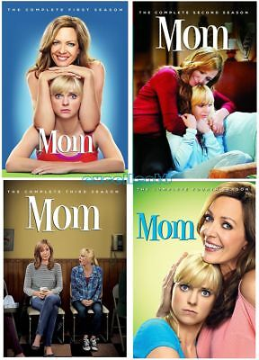 Mom: The Complete Series Seasons 1-4 (DVD, 2017, 12-Disc Box Set) 1 2 3 4 New