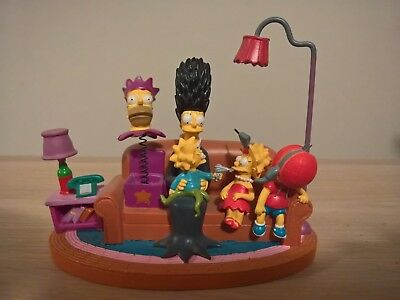 The Simpsons COUCH HALLOWEEN Hamilton Figurine Couch Gags Collection