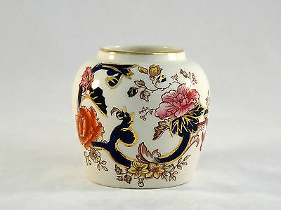 Masons Ironstone Vase In Long Tailed Pheasant Pattern 1813 1820