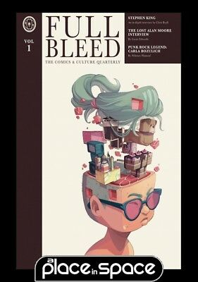 Full Bleed Comics & Culture Quarterly Vol 01 - Hardcover