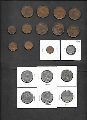 Australia Lot of 19 Circulated Coins - Good Starter Set