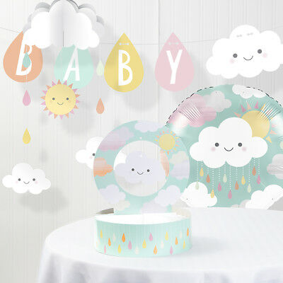 Clouds Baby Shower Decorations Kit