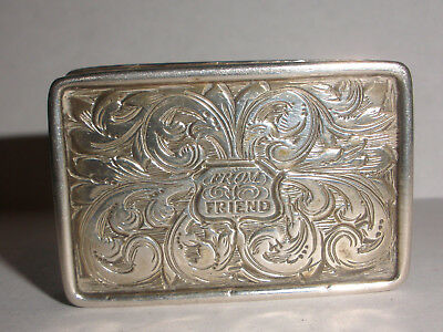 Antique 1830`s English Sterling Silver Vinaigrette box Birmingham Francis Clark