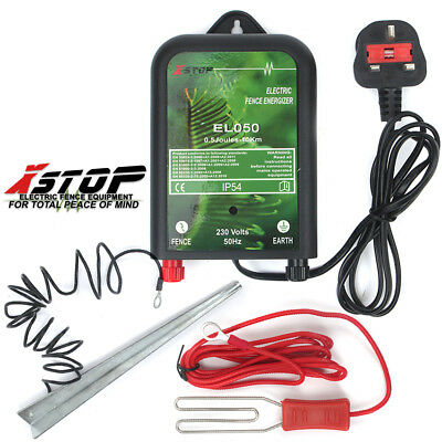 EL90 ELECTRIC FENCE ENERGISER 10km 230v 0.5J EQUINE PADDOCK 1 YEAR WARRANTY *