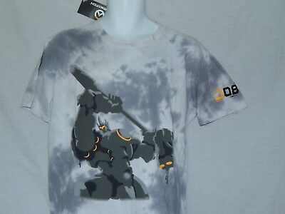 cd5f22eb1 NEW Overwatch Figure Reinhardt Video Game League Poster T Shirt xbox ps4  Men's