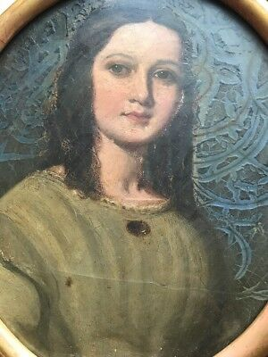 Antique Oil Painting  Portrait - Stunning