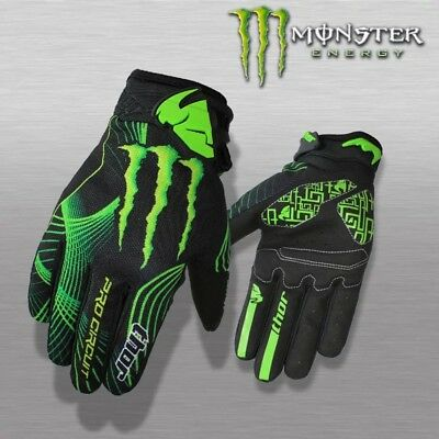 Thor Motocross ATV Enduro Bike Cycling BMX Gloves Fox Monster Thors TLD FOX