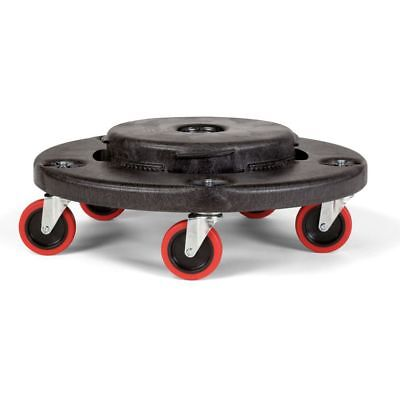 Rubbermaid FG264043BLA BRUTE Dolly for 20-55 Gallon Containers