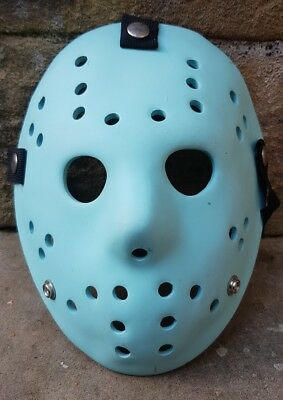 Neca Jason Vorhees Prop Replica Mask Friday The 13Th 8 Bit Glow In The Dark Rare