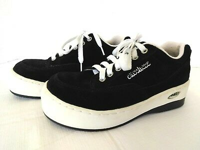 clearance prices cheap on sale SKECHERS 90S VINTAGE Platform Sneakers Women Size 7 Black ...