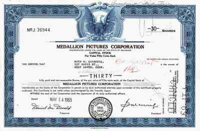 MEDALLION Pictures Corporation 1965 Delaware Broadcast Industries  LIN Nashville