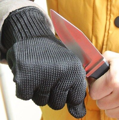 Anti-Slash Cut Proof Gloves Stainless Steel Wire Safety Works Stab Resistance