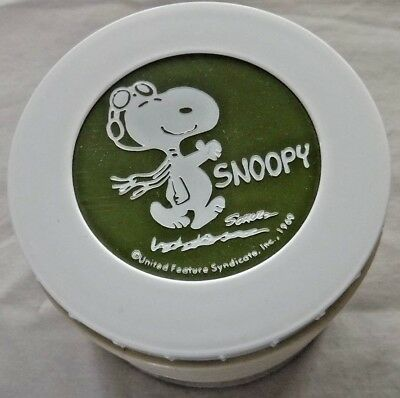 Vintage Snoopy Thermos Insulated Jar 1969