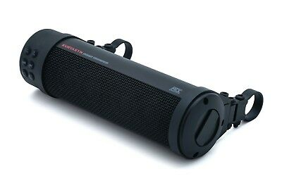 Kuryakyn 2720 Black 300w Road Thunder Bluetooth Sound Bar Plus by MTX Speaker