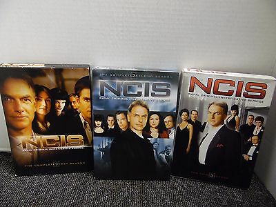 NCIS Naval Criminal Investigative Service Complete Season 1 - 3 DVD *FREE SHIP*