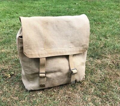 WW2 BRITISH ARMY P37 Webbing Backpack  Meco 1941 Original With Straps