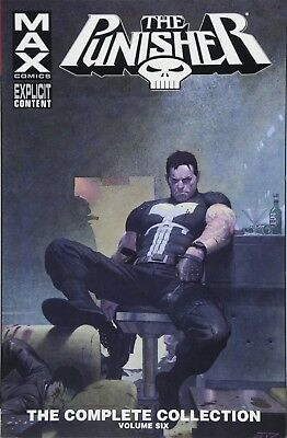 Punisher Max: The Complete Collection Vol 6 TPB - BRAND NEW! 376 pages
