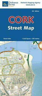 Cork (Irish Street Maps) (Irish Dis... by Ordnance Survey Irel Sheet map, folded