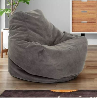 Fine Bean Bag Comfy Chair Dorm Teen Kids Room Lounger Large Big Caraccident5 Cool Chair Designs And Ideas Caraccident5Info