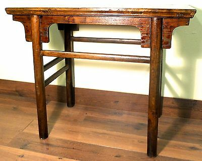Antique Chinese Ming Console (wine) Table (3117), Circa 1800-1849