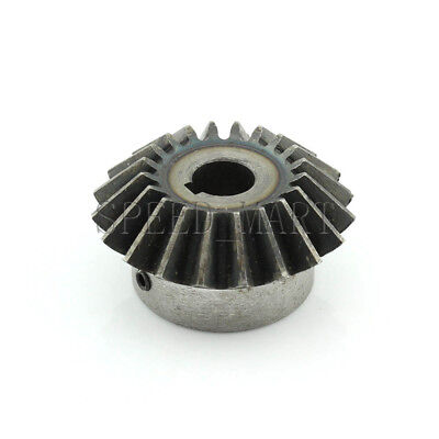 3M20T Metal Umbrella Tooth Bevel Gear Helical Motor Gear 20 Tooth 18mm Bore