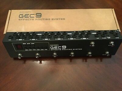 Moen GEC9 Commander Effects Routing System - Excellent Condition