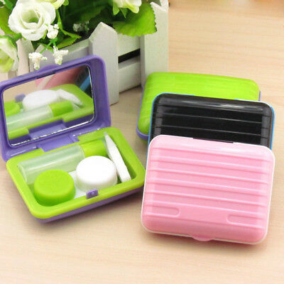 Contact Lens Case Box Plastic Container Storage Holder Portable Tool For Travel