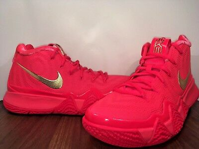 6d22d32e6d8 Nike Kyrie 4 Red Carpet Uncle Drew Red Orbit Metallic Gold 943806-602 Size  10