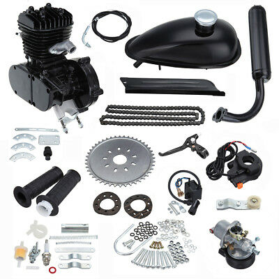 80CC Motor Engine Kit 2 Stroke Motorized Push Bike Motorised Bicycle Petrol Gas