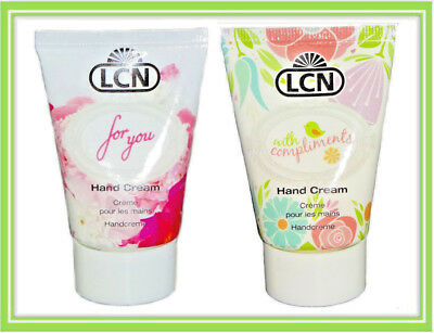 €8,33/100ml LCN For You - With Compliments Handcreme Hand Cream 30ml