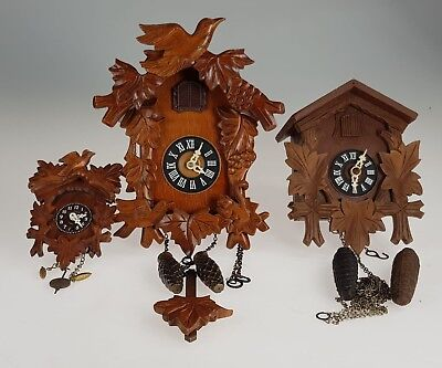 Vintage German Cuckoo Clock job lot spares