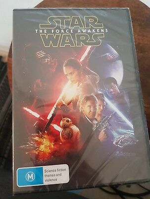 The Force Awakens Star Wars Dvd New & Sealed- Free Postage!
