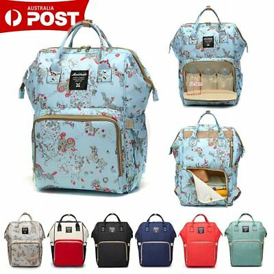 Multifunctional Large Mummy Backpack Baby Diaper Bags Nappy Changing Travel Bag