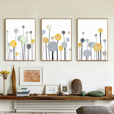 Nordic Abstract Tree Printed Poster Unframed Canvas Painting Art Home Decor Firm